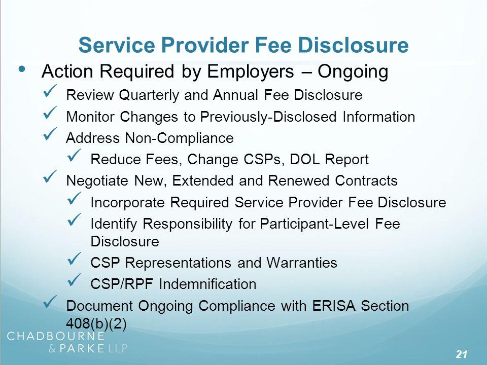 DOL's Participant-Level Disclosure Regulations