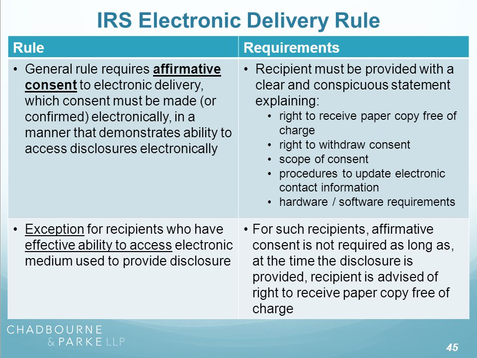FAB 2006-03 Electronic Delivery Rule