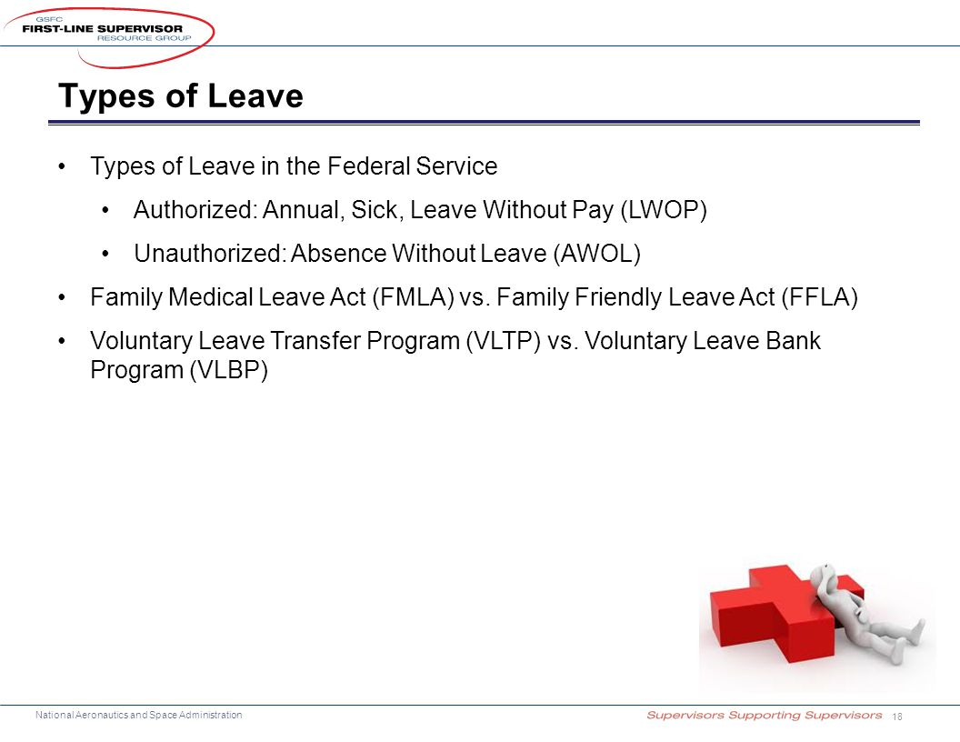 Types of Leave Types of Leave in the Federal Service