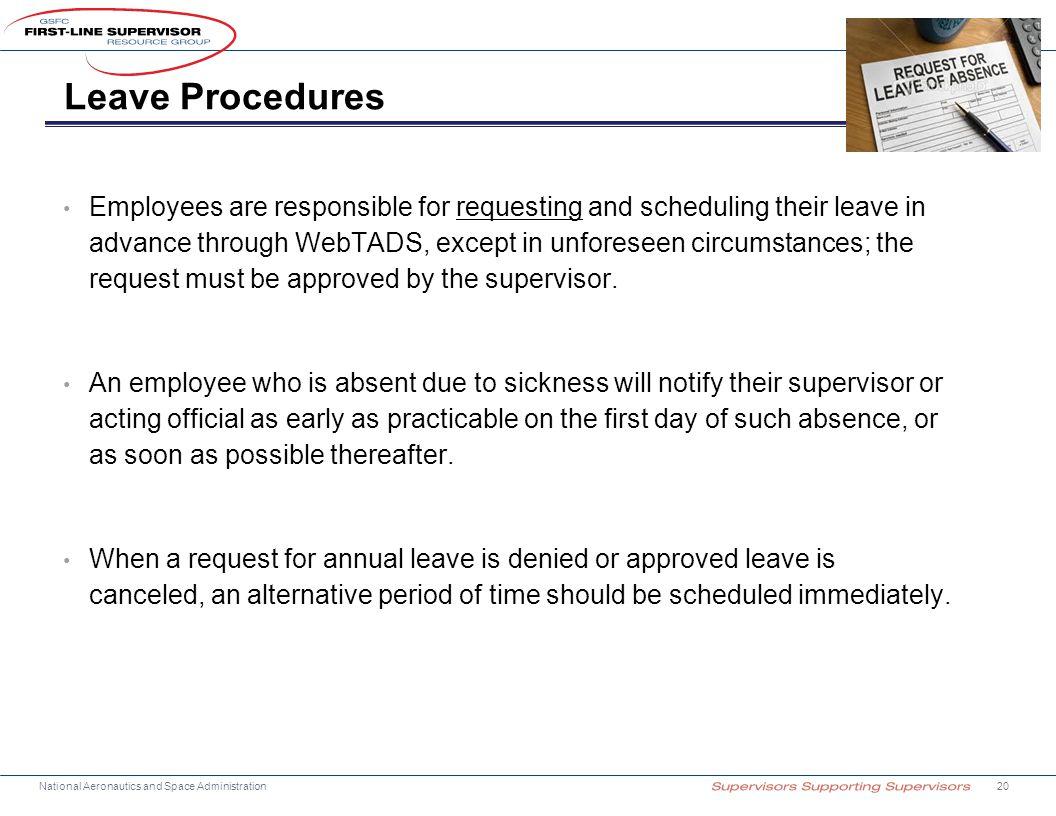Leave Procedures