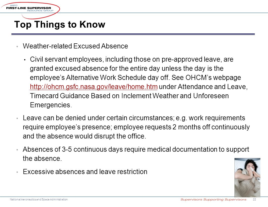 Top Things to Know Weather-related Excused Absence
