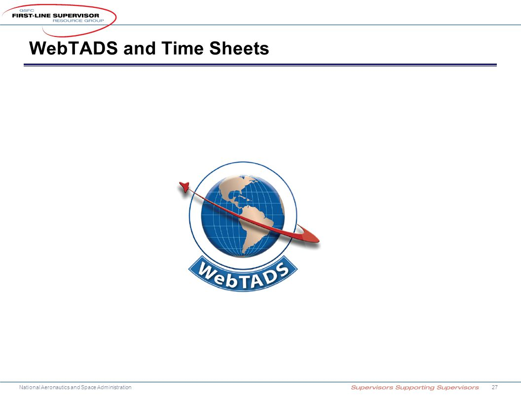 WebTADS and Time Sheets