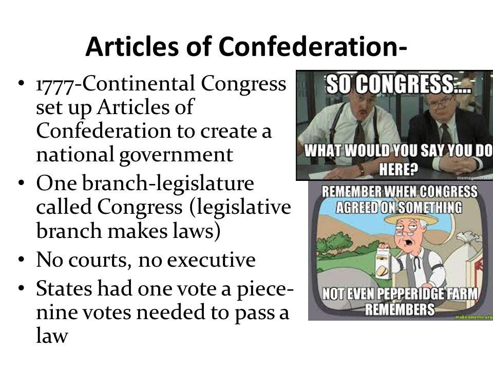 Articles of Confederation-