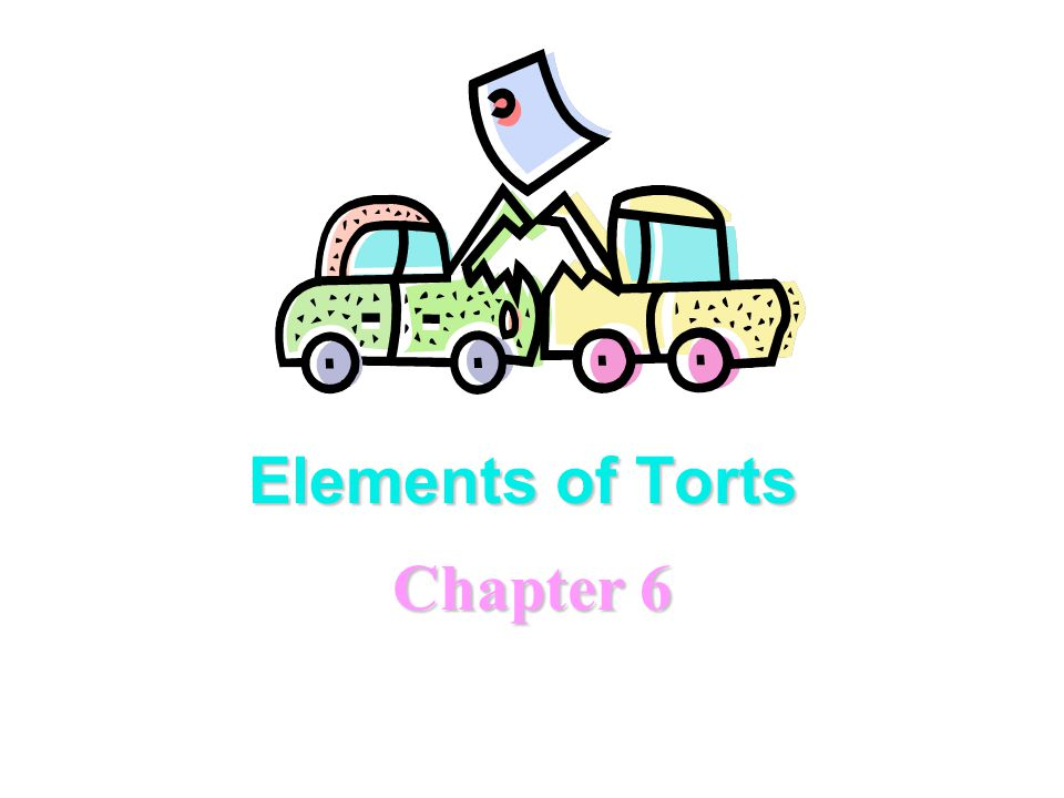Elements of Torts Chapter 6