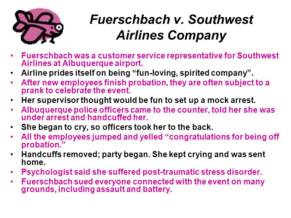 Fuerschbach v. Southwest Airlines Company