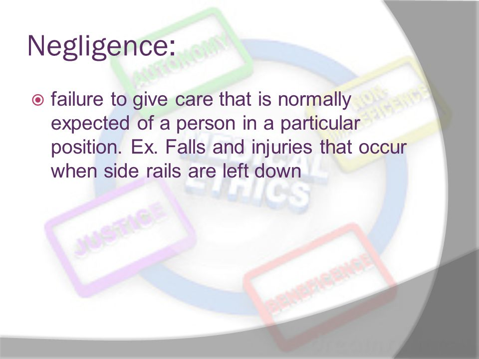 Negligence: