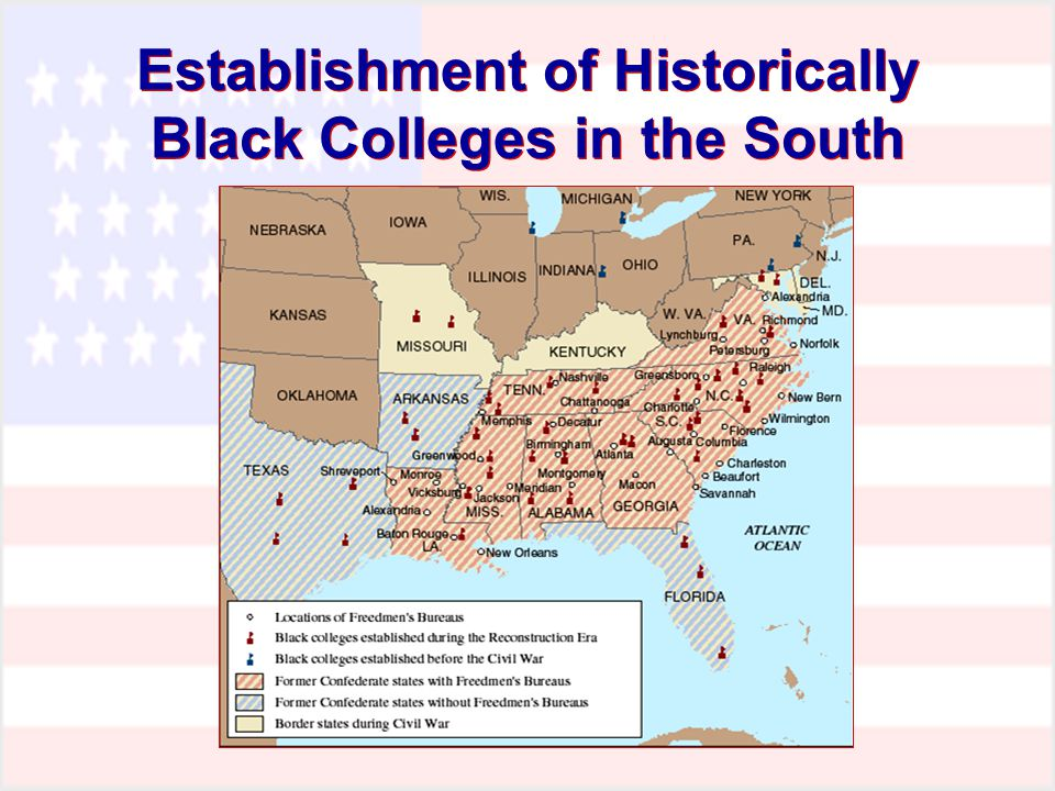 Establishment of Historically Black Colleges in the South