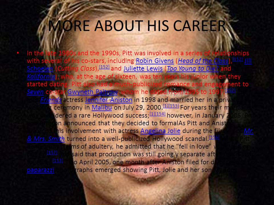MORE ABOUT HIS CAREER