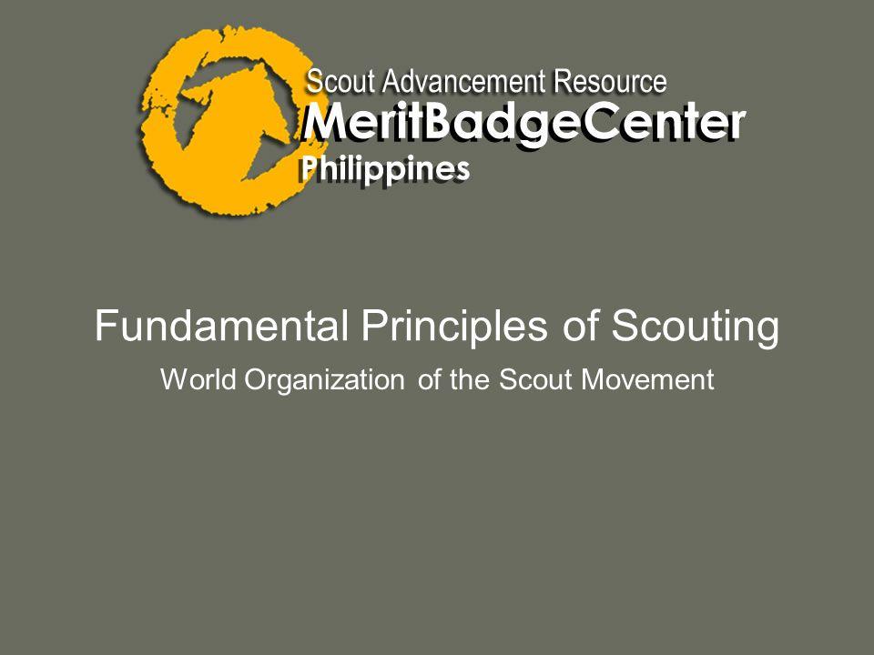 Fundamental Principles of Scouting