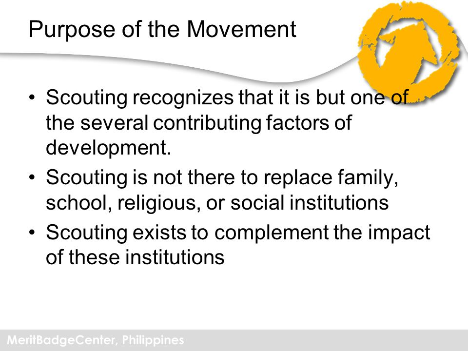 Purpose of the Movement