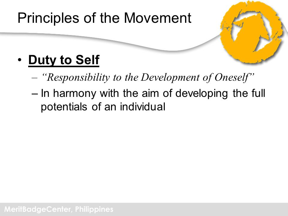 Principles of the Movement