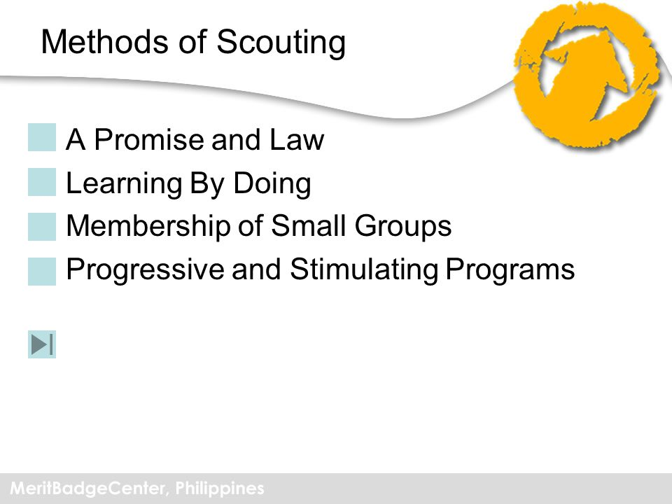 Methods of Scouting A Promise and Law Learning By Doing