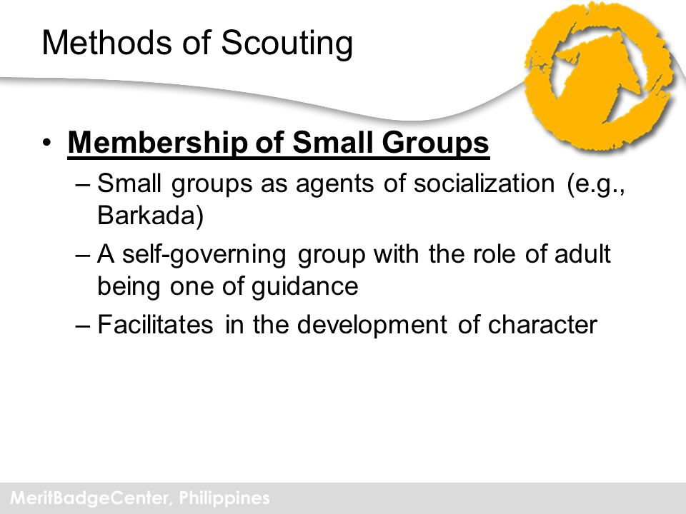 Methods of Scouting Membership of Small Groups