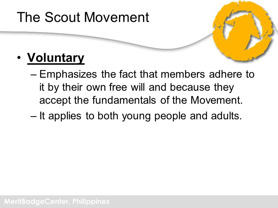 The Scout Movement Voluntary