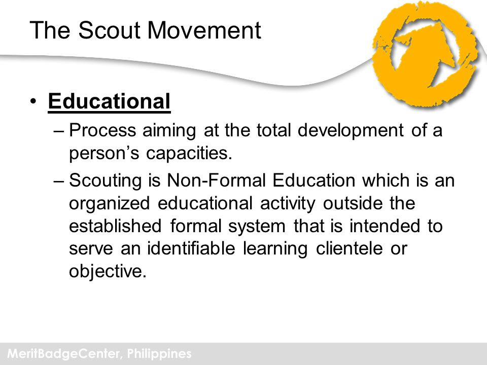 The Scout Movement Educational