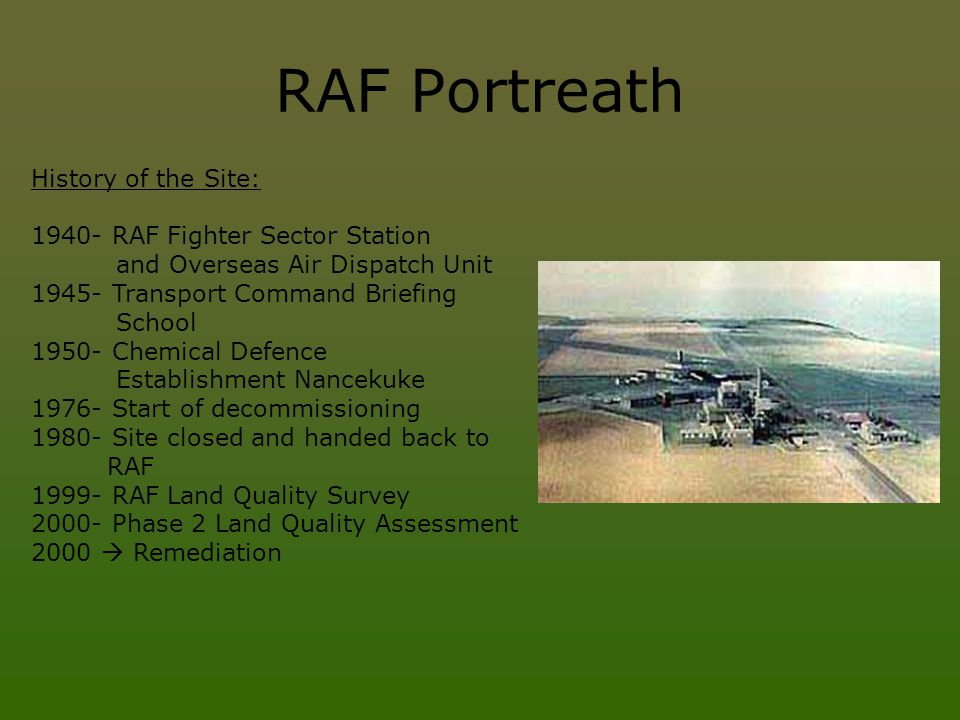 RAF Portreath History of the Site: 1940- RAF Fighter Sector Station