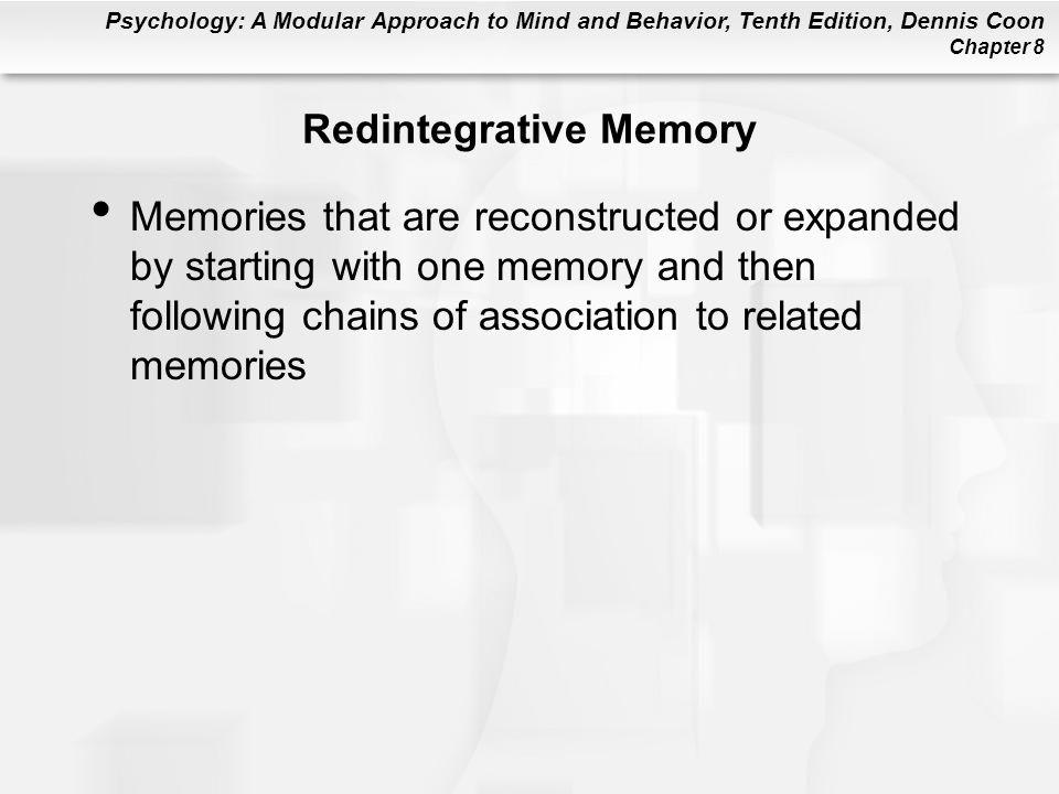 Redintegrative Memory