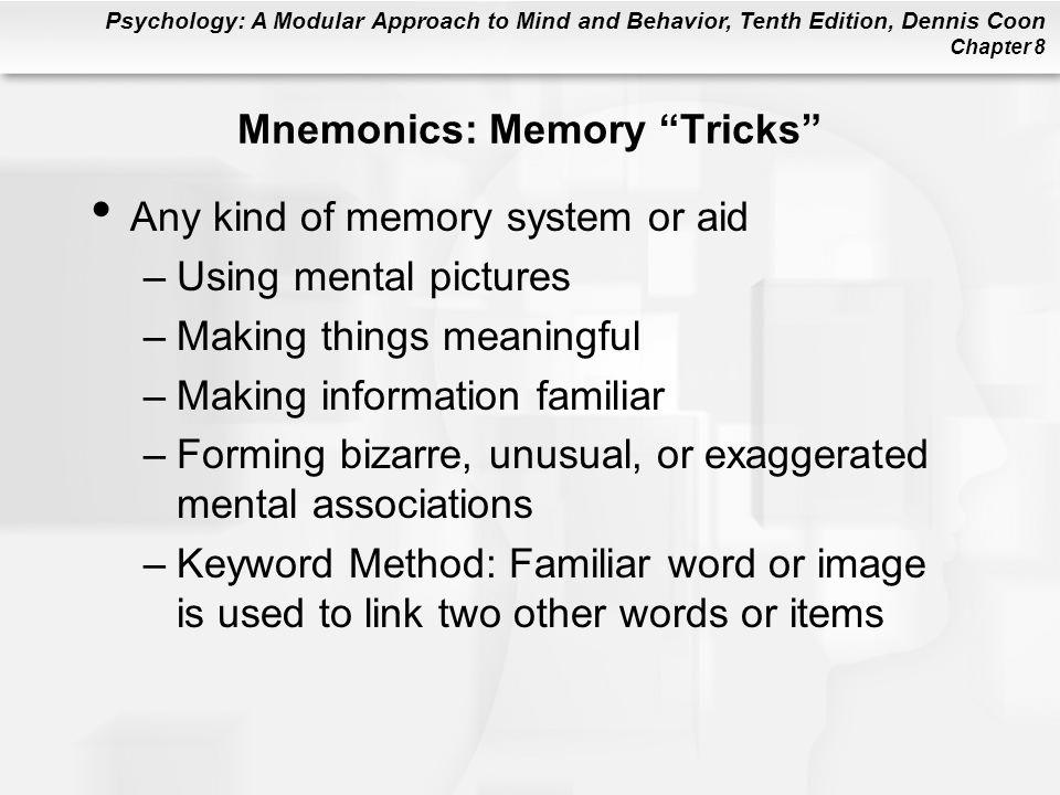 Mnemonics: Memory Tricks