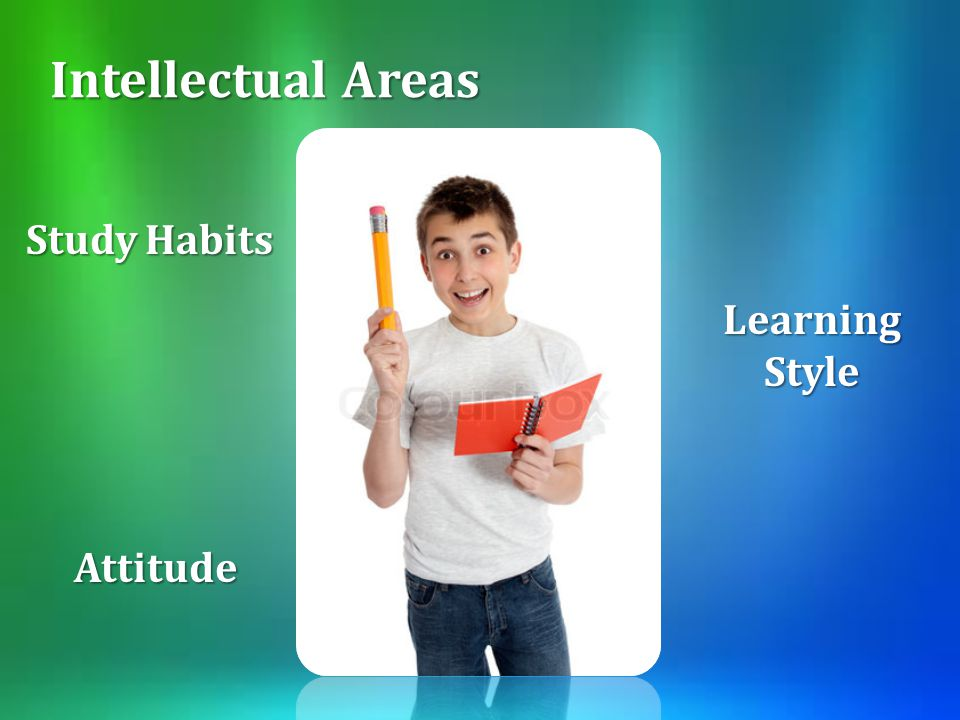 Intellectual Areas Study Habits Learning Style Attitude