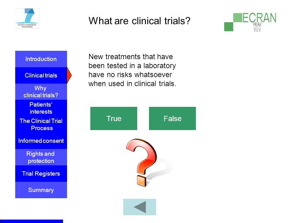 What are clinical trials