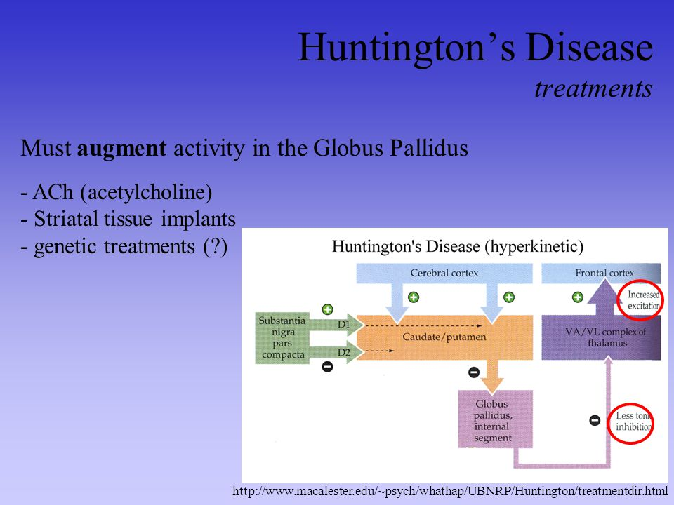 Huntington's Disease treatments