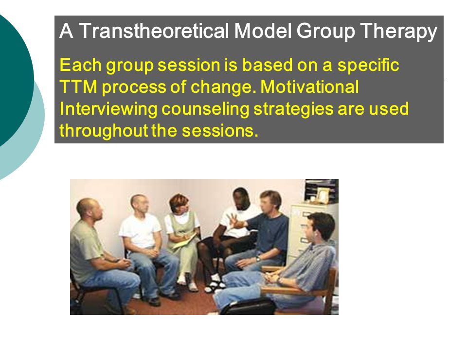 A Transtheoretical Model Group Therapy