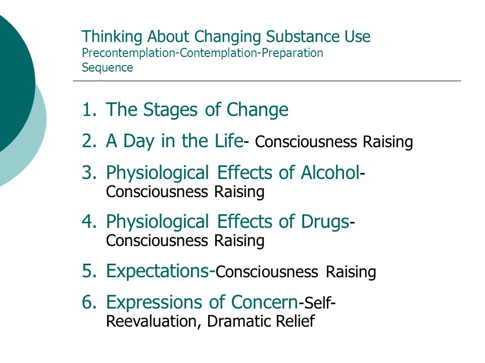A Day in the Life- Consciousness Raising