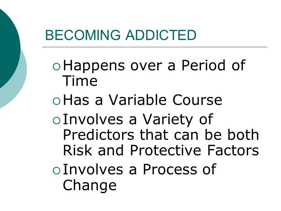 Happens over a Period of Time Has a Variable Course