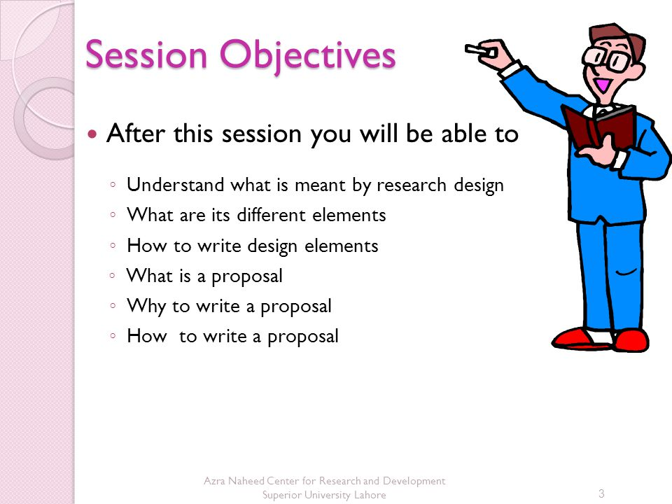 Session Objectives After this session you will be able to