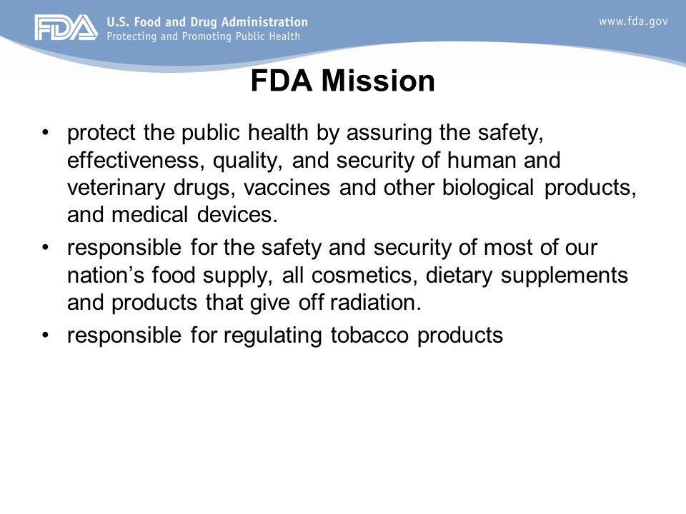 FDA Mission