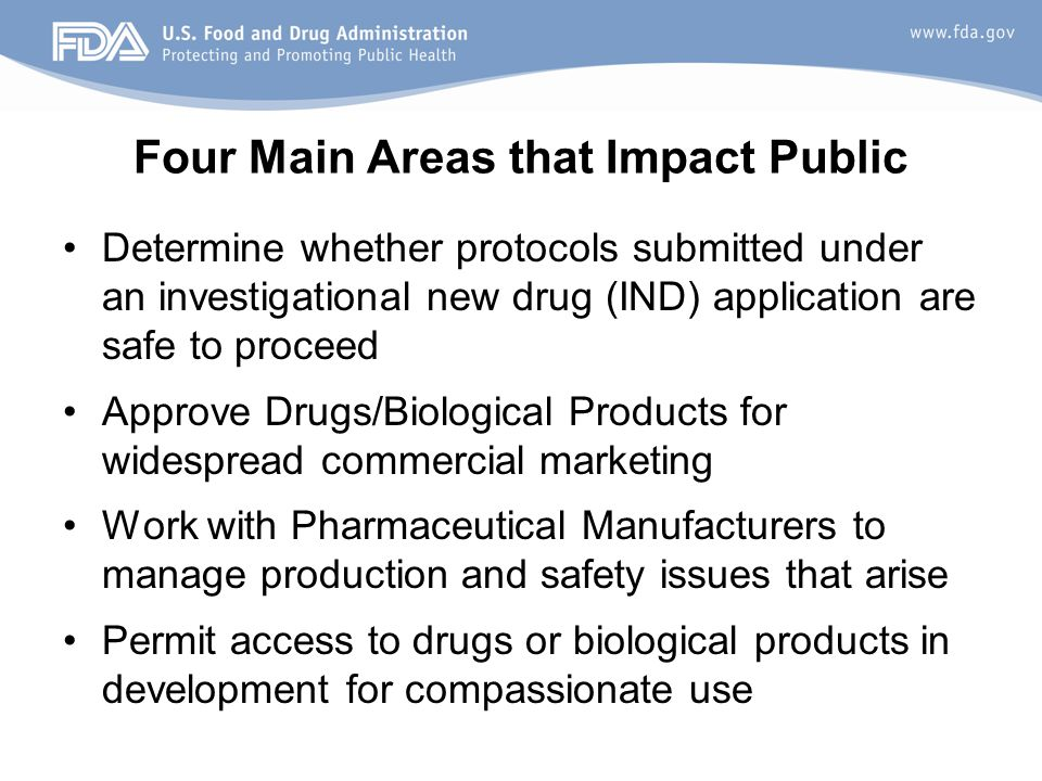 Four Main Areas that Impact Public