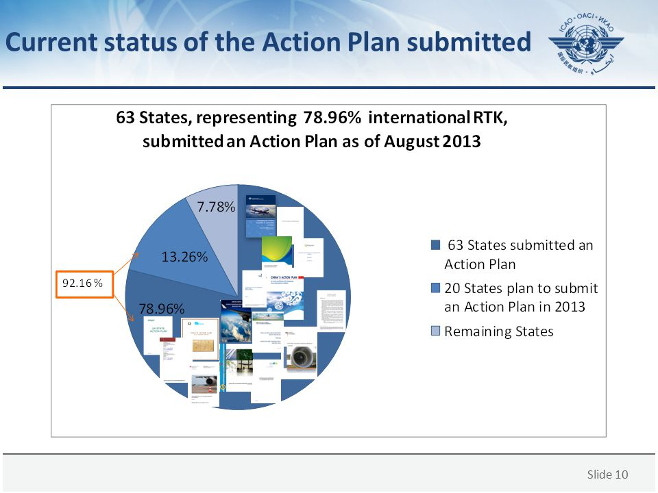Current status of the Action Plan submitted
