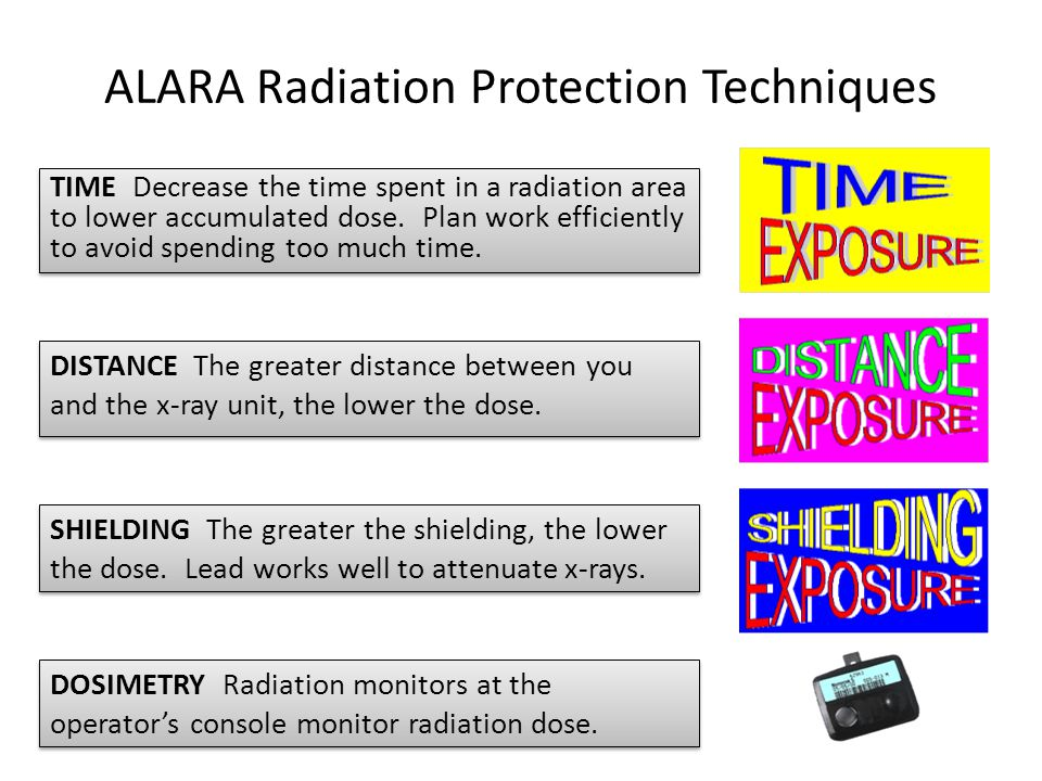 ALARA Radiation Protection Techniques