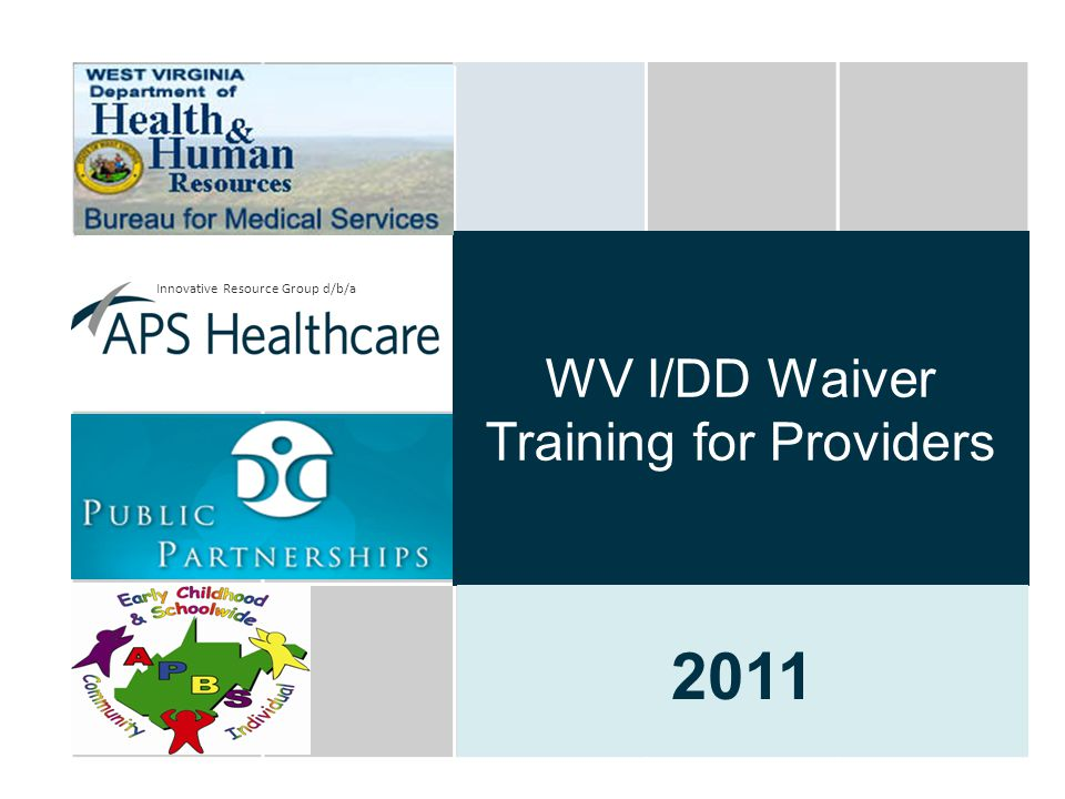 WV I/DD Waiver Training for Providers
