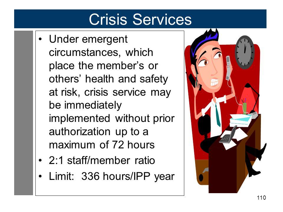 Crisis Services