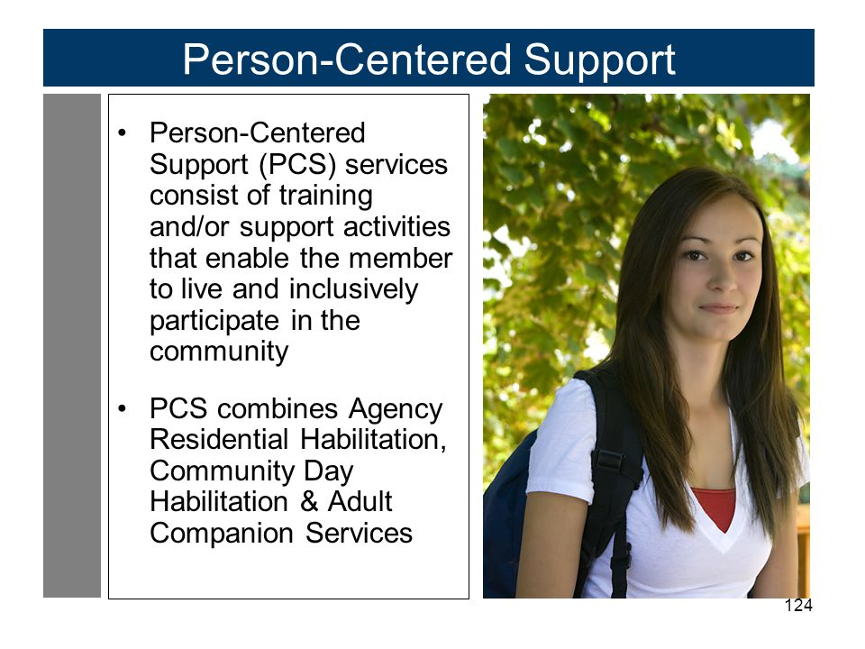 Person-Centered Support