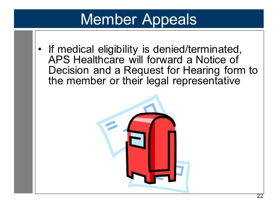 Member Appeals