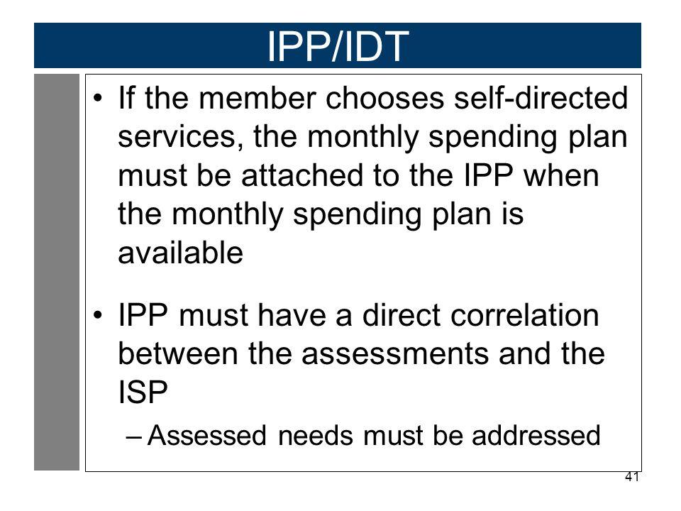 IPP/IDT