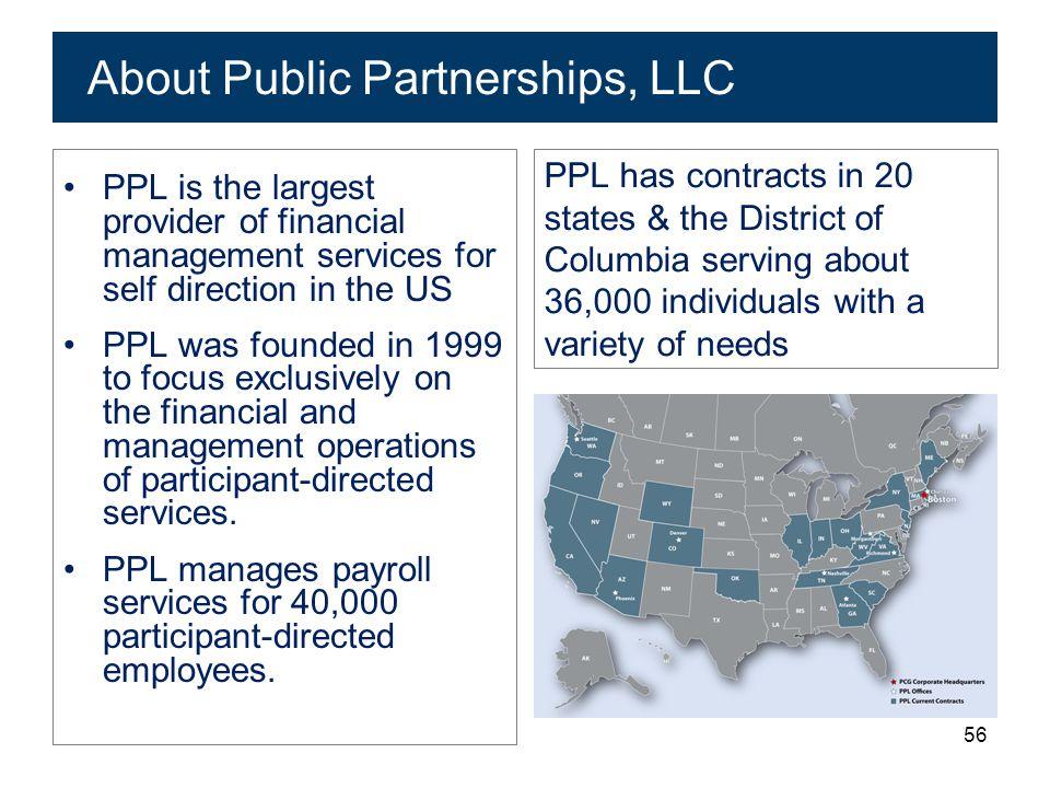 About Public Partnerships, LLC