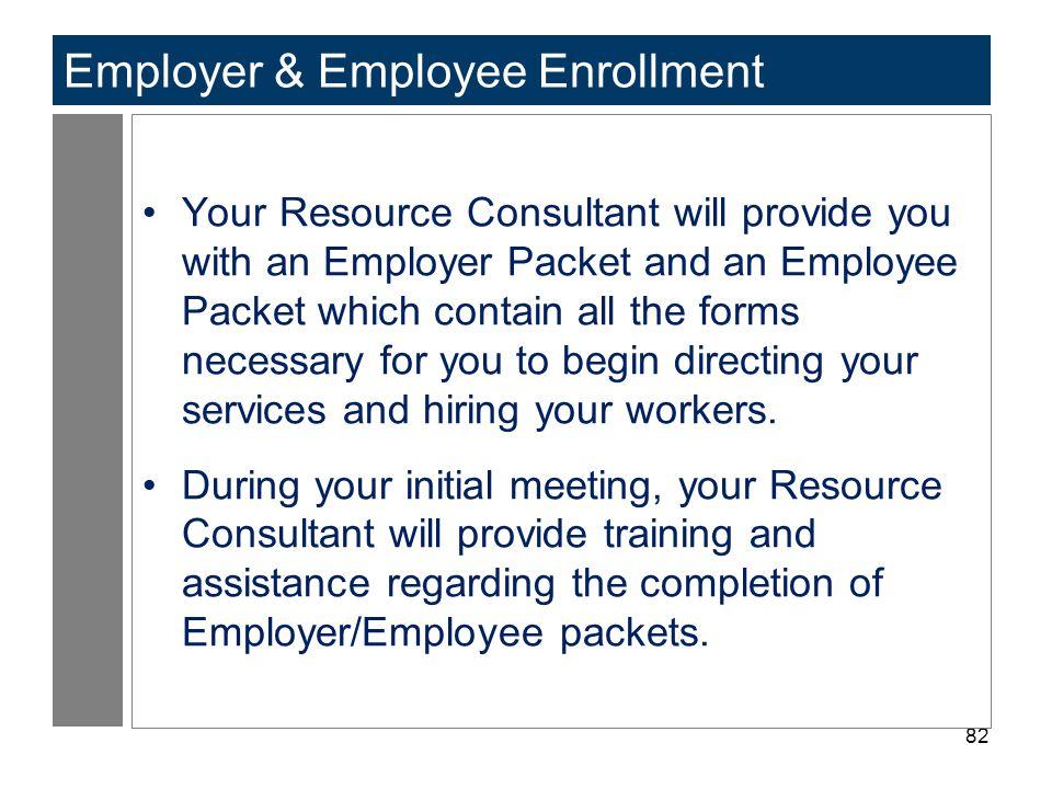 Employer & Employee Enrollment