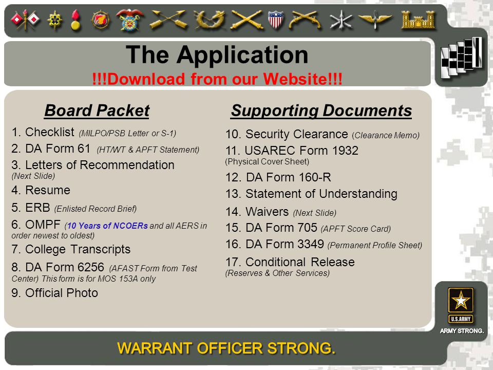 The Application !!!Download from our Website!!!