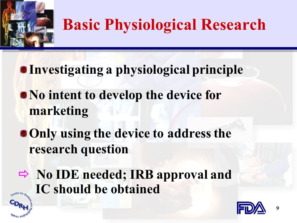 Basic Physiological Research