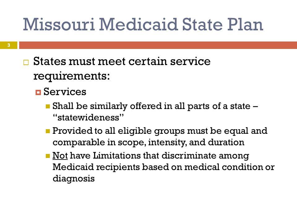 Missouri Medicaid State Plan