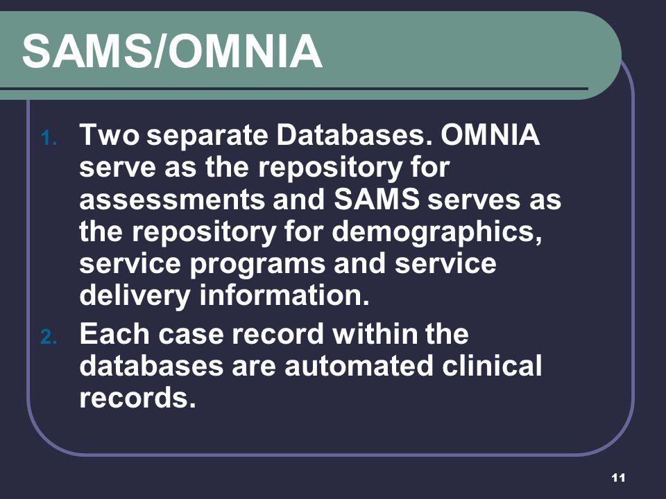 SAMS/OMNIA