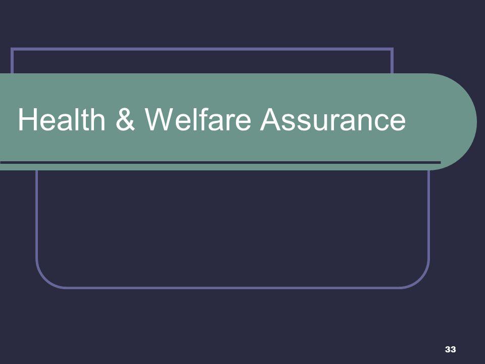 Health & Welfare Assurance