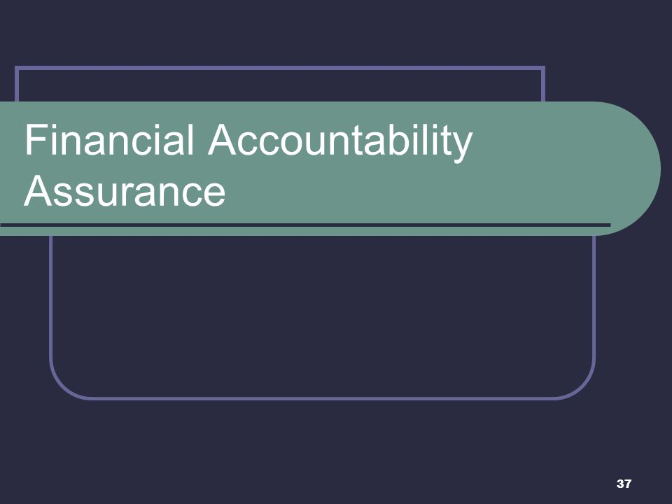 Financial Accountability Assurance