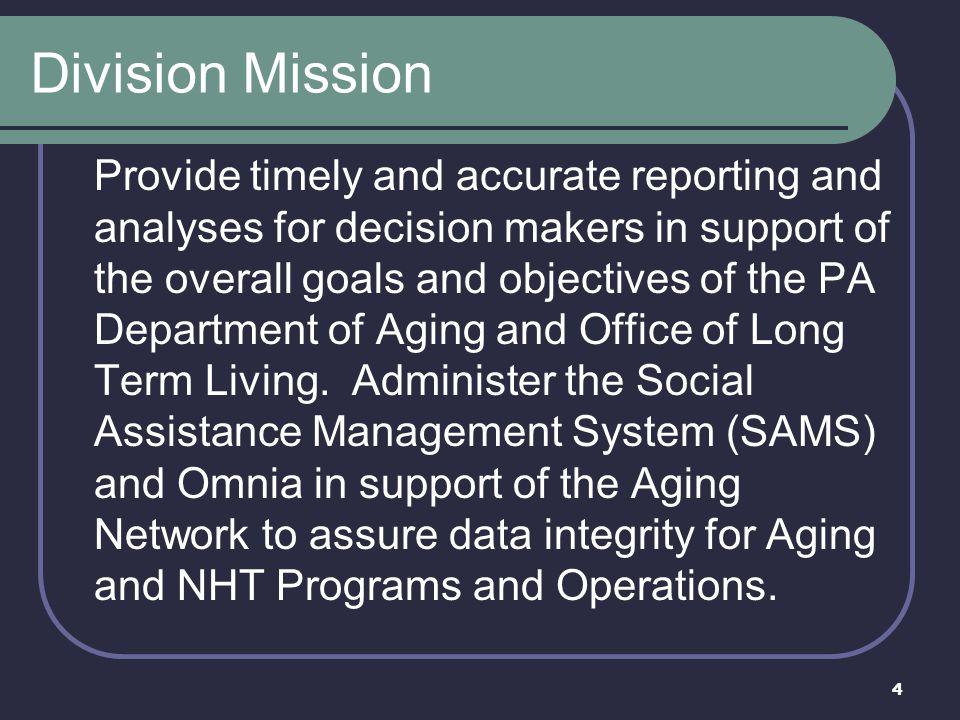Division Mission