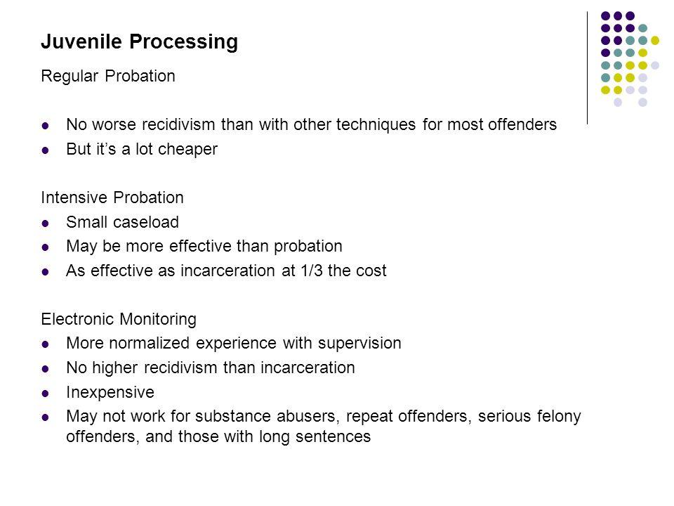 Juvenile Processing Regular Probation