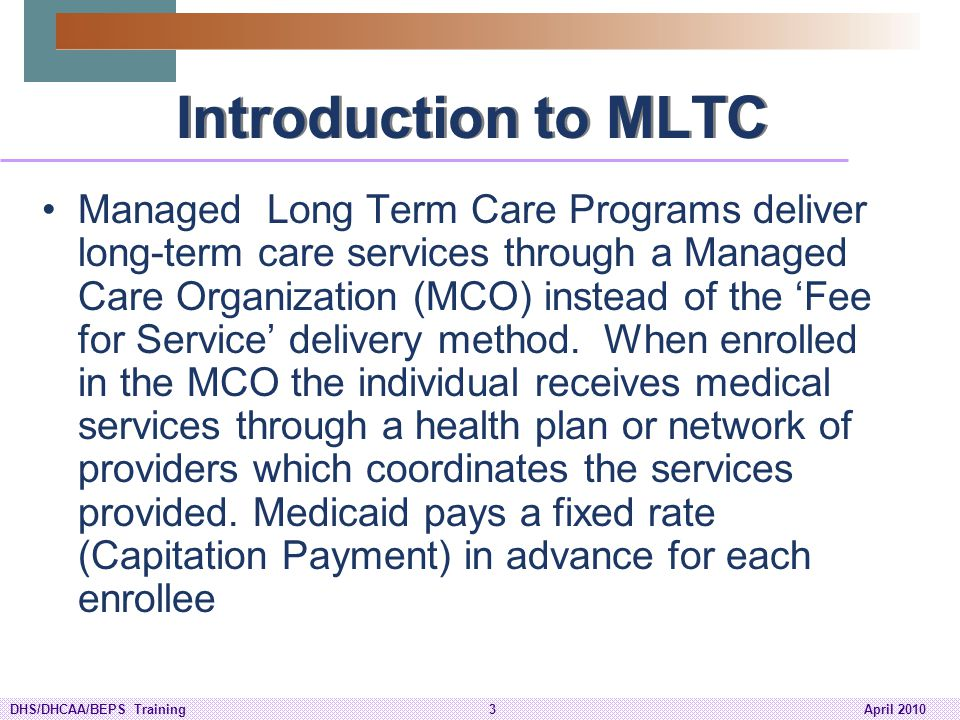 Introduction to MLTC