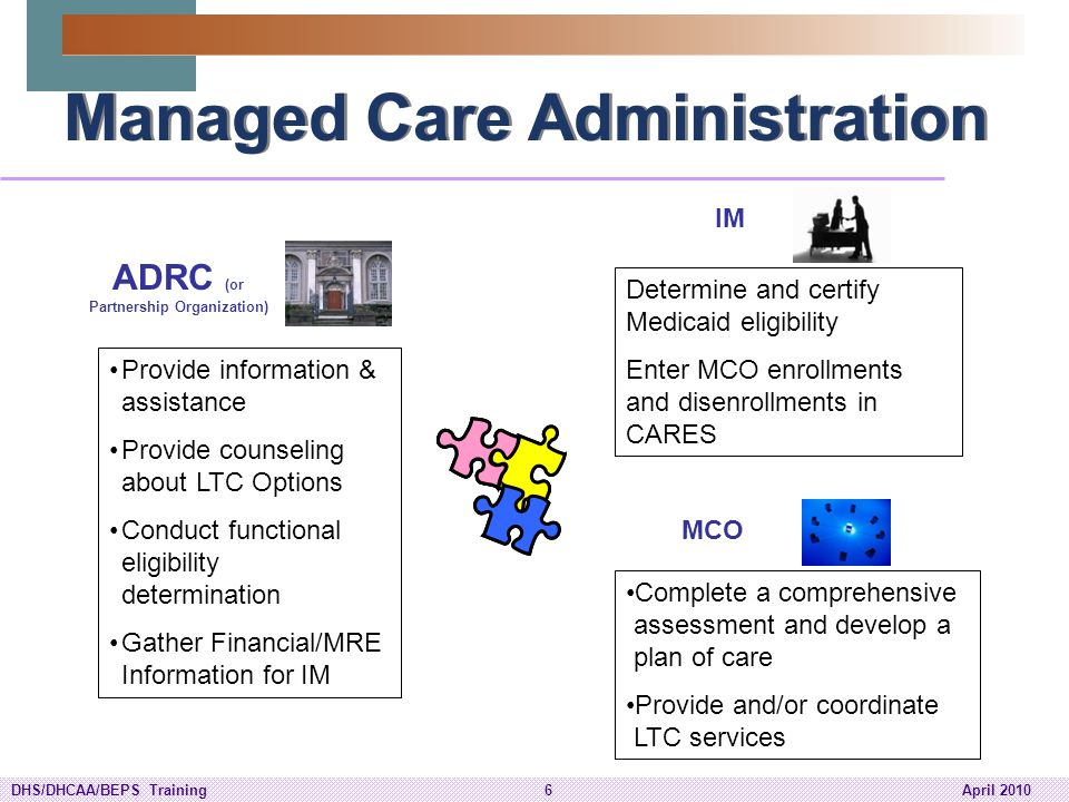Managed Care Administration